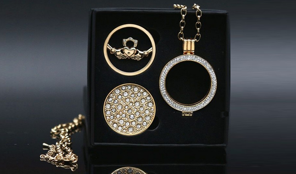 Valentine's Special - Win a Mi Moneda Style Necklace with Presentation Box
