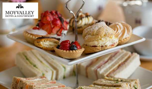 Win a Sparkling Afternoon tea for 2 people at 4-star Moyvalley House & Golf Resort, Co. Kildare!