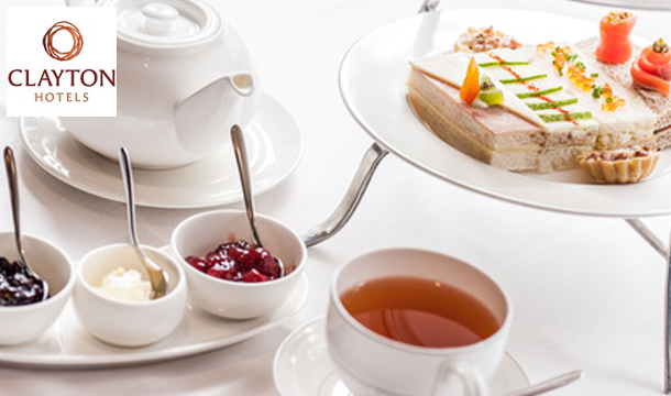 Win Afternoon Tea for 2 at the 4-star Clayton Leopardstown Hotel, South Dublin!