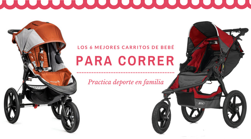 Los 6 Mejores Carritos de Bebé para Correr de tres ruedas