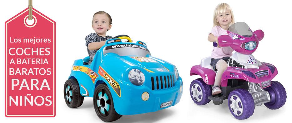 Cómo elegir los mejores coches a batería baratos para niños