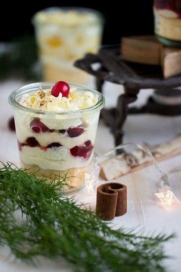 Rezept 3 weihnachtliche Dessertvariationen im Glas