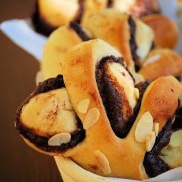 Rezept 65°C TangZhong Nutella Buns