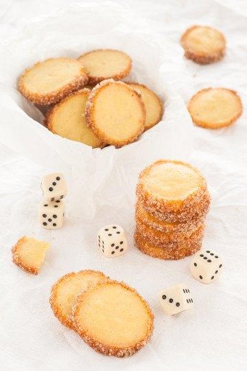 Rezept Abgewandelte Danish Butter Cookies - Zitrone-Kardamom