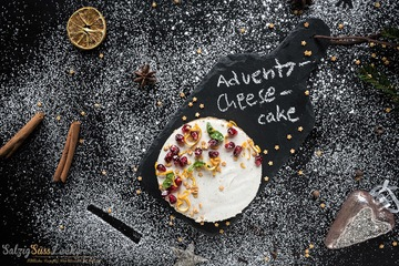 Rezept Advents-Chai-Teas-Cheesecake - ein cremiger Genuss