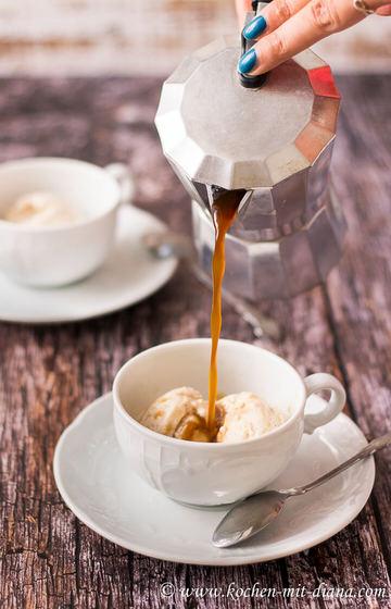 Rezept Affogato al caffè