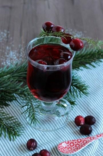 Rezept Alkoholfreier Cranberry Punsch