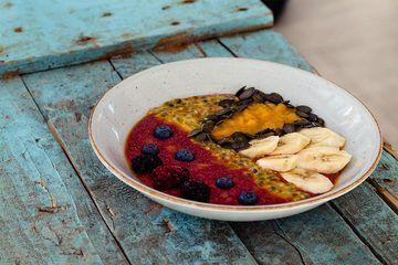 Rezept Amaranth Porridge mit Beeren - Gesund und lecker frühstücken