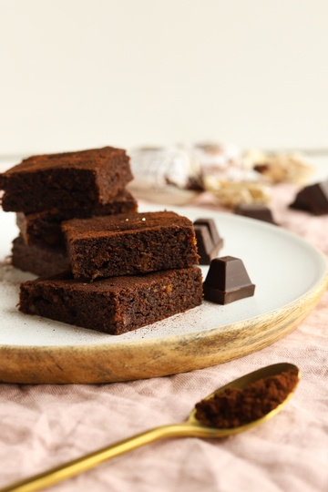 Rezept Amaretto-Brownies
