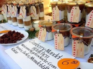 Rezept Amarettokuchen als Backmischung im Glas
