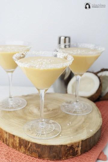 Rezept Amarula Kokosnuss Mango Kuss Cocktail (Werbung) ❤