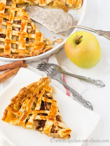 Rezept American Apple Pie