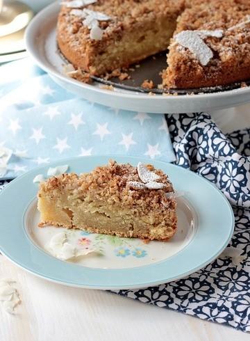 Rezept Amerikanischer Sour Cream Streuselkuchen