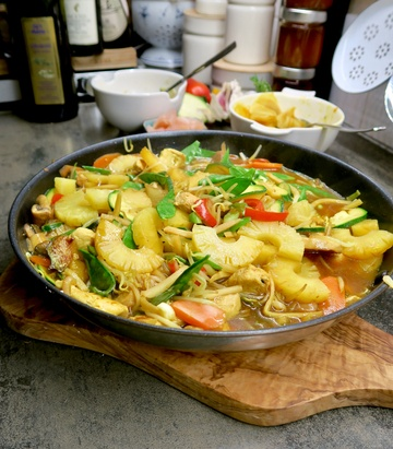 Rezept Ananas Chicken Sweet & Spicy
