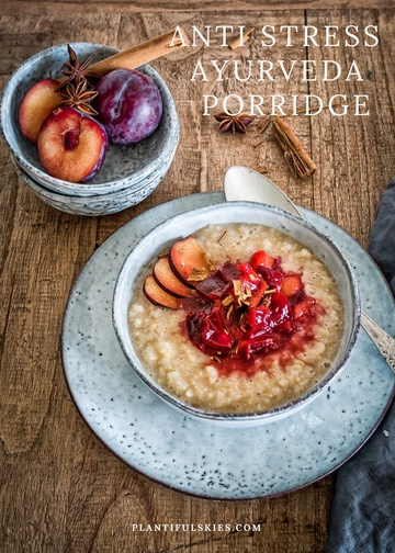 Rezept Anti Stress Ayurveda Porridge