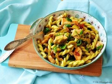 Rezept Antipasti Nudelsalat mit Hähnchenfilet