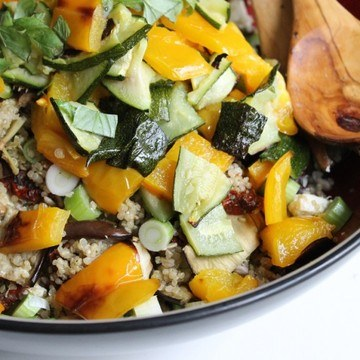 Rezept Antipasti-Quinoa-Salat