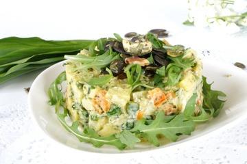 Rezept Apfel Avocado Gurken Tatar mit Bärlauchpesto