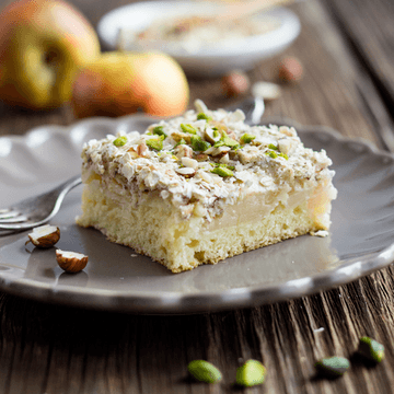 Rezept Apfel-Baiser-Kuchen