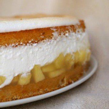 Rezept Apfel-Baiser-Torte