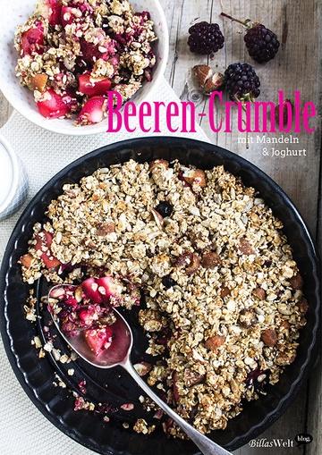 Rezept Apfel-Beeren-Crumble mit Joghurt
