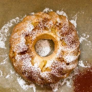 Rezept Apfel-Biskuit-Kuchen