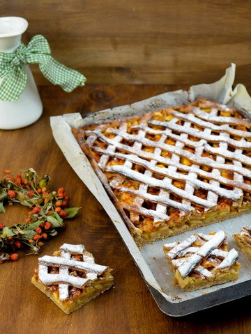 Rezept Apfel-Gitterkuchen