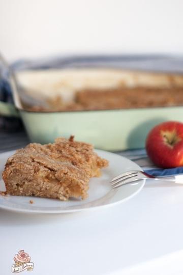 Rezept Apfel-Grieß-Kuchen