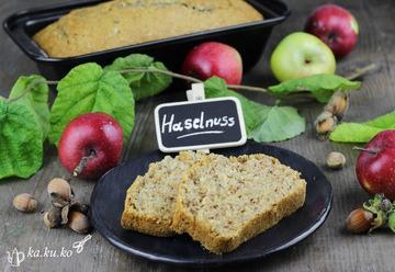 Rezept Apfel-Haselnuss-Kuchen (vegan)