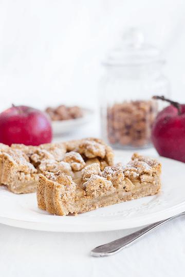 Rezept Apfel-Haselnuss-Tarte