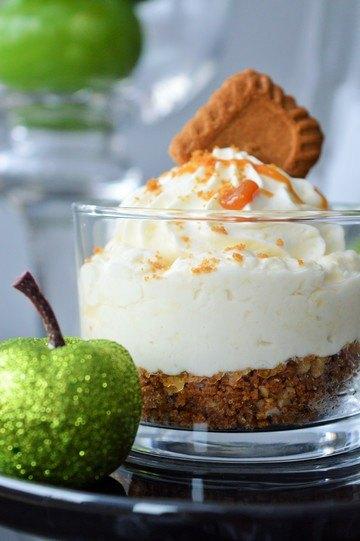 Rezept Apfel-Karamell-Cheesecake im Glas