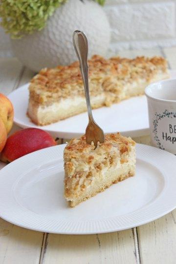 Rezept Apfel-Mandel-Käsekuchen Rezept
