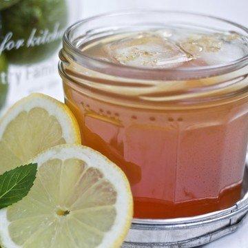 Rezept Apfel-Minz-Eistee