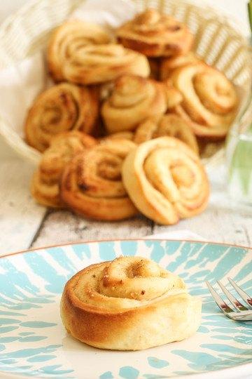 Rezept Apfel-Nuss-Zimtschnecken