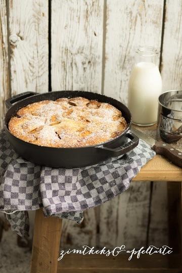 Rezept Apfel-Pfannenkuchen