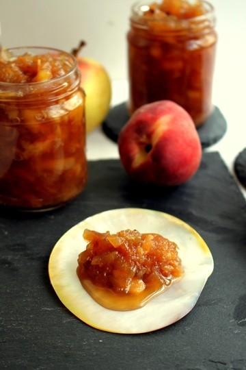 Rezept Apfel-Pfirsich Chutney