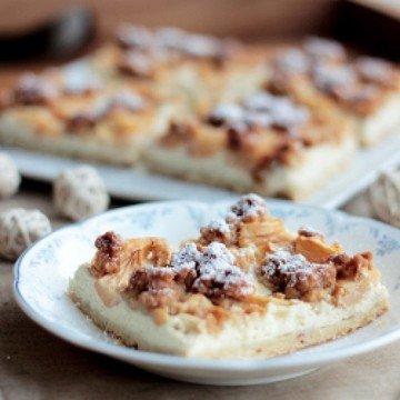 Rezept Apfel-Quark-Kuchen mit Streuseln