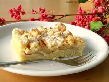 Rezept Apfel-Rahm-Kuchen