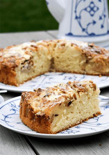 Rezept Apfel Rahm Kuchen