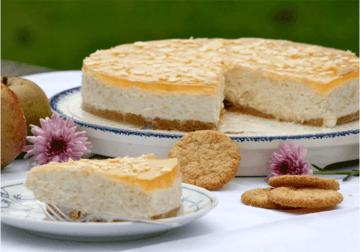 Rezept Apfel-Schmand-Torte (no bake)