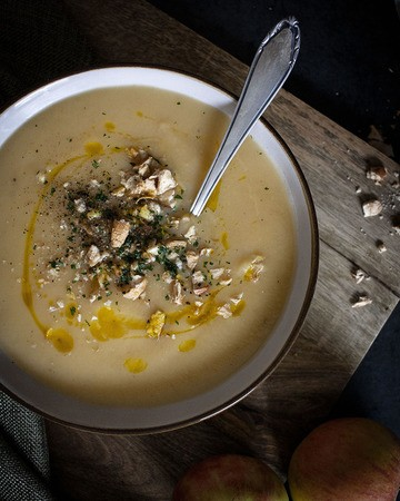 Rezept Apfel-Steckrüben-Suppe – vegan & saisonal