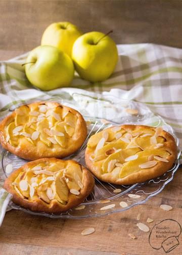 Rezept Apfel-Taler aus Hefeteig