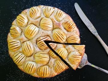 Rezept Apfel-Topfen-Torte