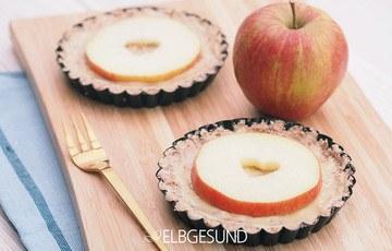 Rezept Apfel-Törtchen aus der Raw Food Küche