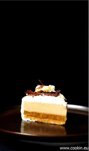 Rezept Apfel-Törtchen mit Creme von karamellisierter weißer Schokolade