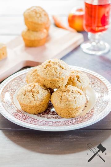 Rezept Apfel und Karotten Muffins