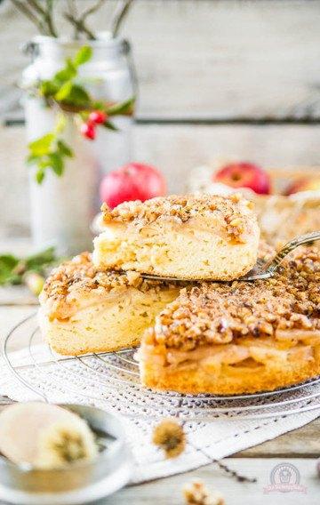 Rezept Apfel-Walnuss-Kuchen
