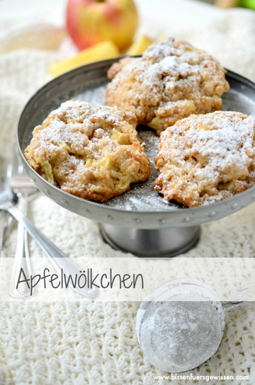 Rezept Apfel-Wölkchen