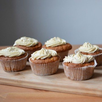 Rezept Apfel-Zimt-Cupcakes