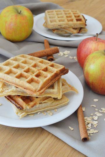 Rezept Apfel-Zimt-Waffeln